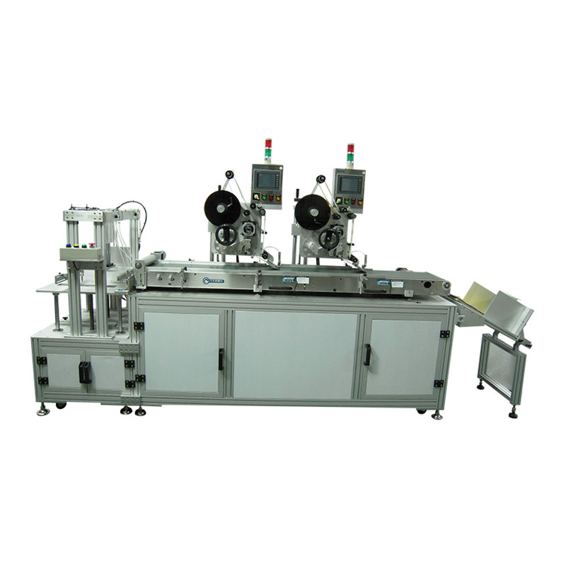 AP-120 Wipe-dual Labeling Machine